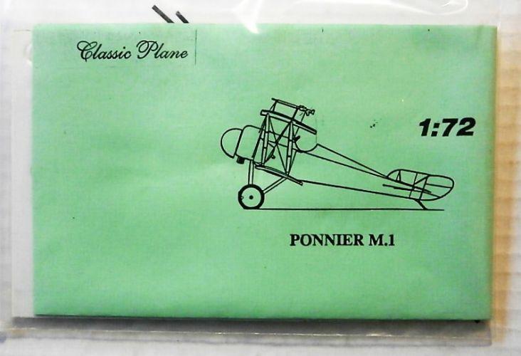 CLASSIC PLANE 1/72 PONNIER M.1