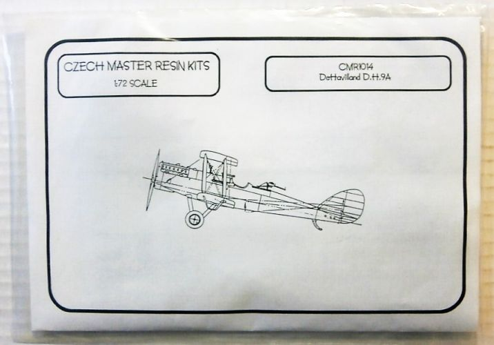 CZECH MASTER RESIN 1/72 1014 DE HAVILLAND D.H.9A