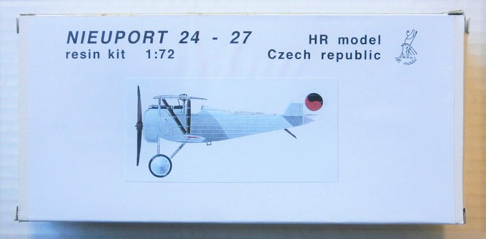 HR MODEL 1/72 NIEUPORT 24-27