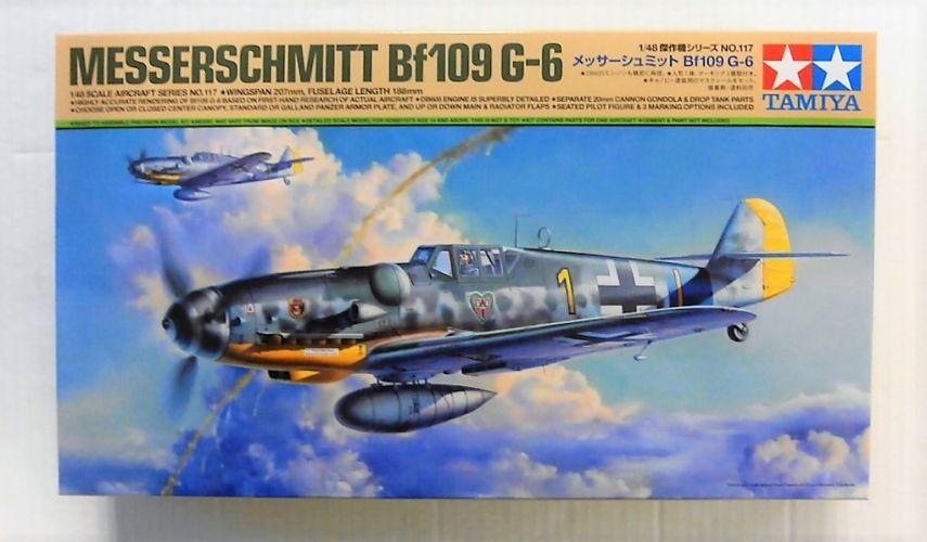 TAMIYA 1/48 61117 MESSERSCHMITT Bf109 G-6