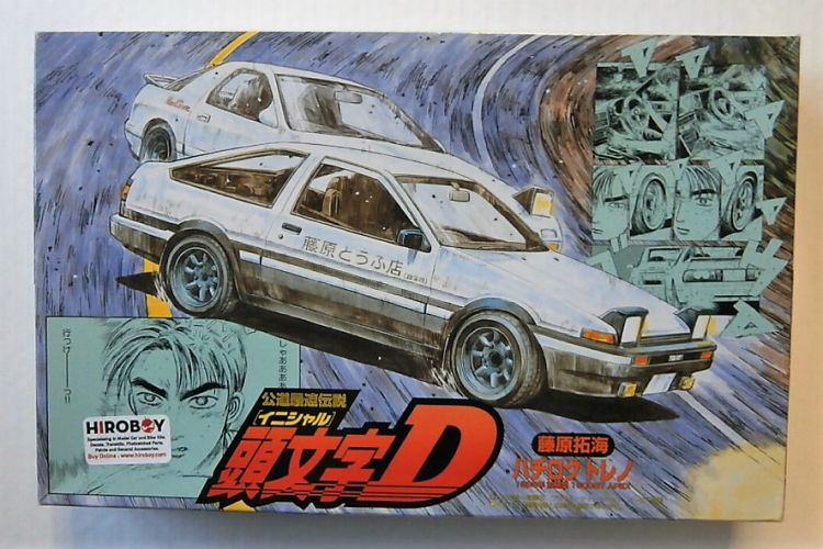 FUJIMI 1/24 18321 AE86 TRUENO EARLY TYPE 1600GT APEX