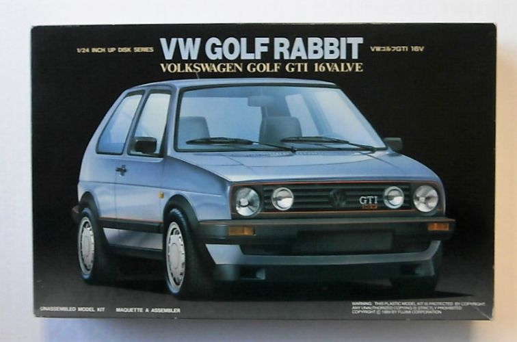 FUJIMI 1/24 03206 VOLKSWAGEN GOLF RABBIT GTI 16V