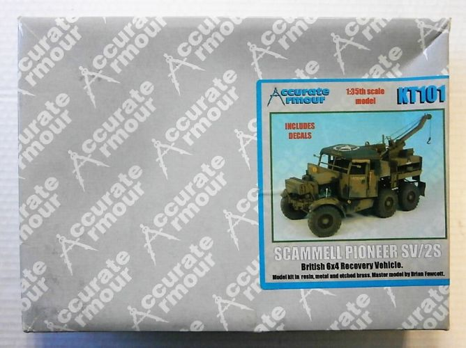 ACCURATE ARMOUR 1/35 KT101 SCAMMELL PIONEER SV/2S