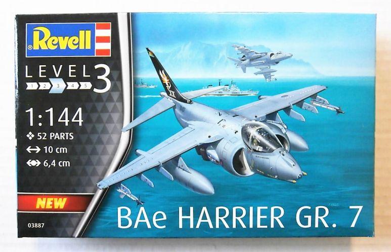 REVELL 1/144 03887 BAE HARRIER GR.7