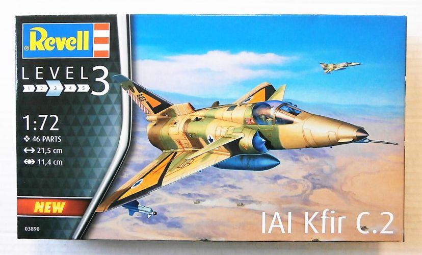 REVELL 1/72 03890 IAI KFIR C.2