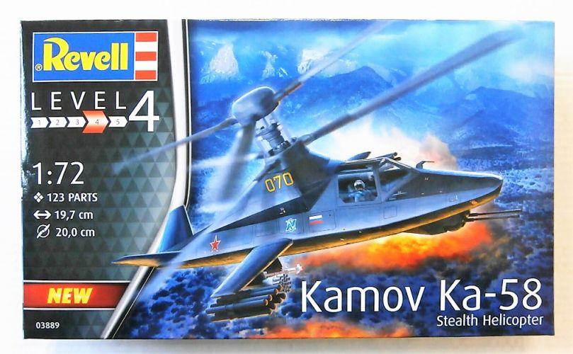 REVELL 1/72 03889 KAMOV KA-58 STEALTH HELICOPTER