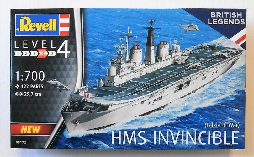 REVELL 1/700 05172 HMS INVINCIBLE  FALKLANDS WAR