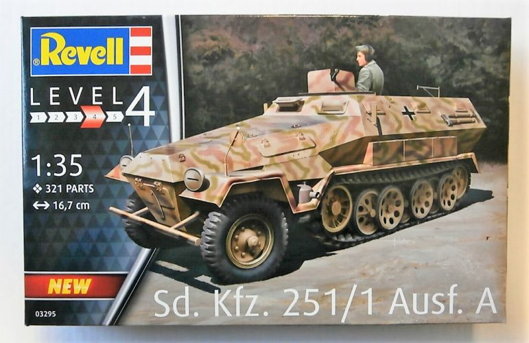 REVELL 1/35 03295 SD.KFZ.251/1 AUSF.A