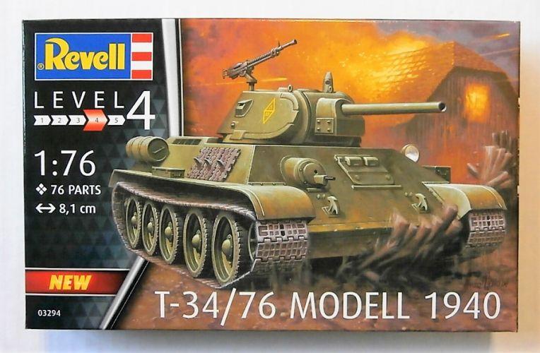 REVELL 1/76 03294 T-34/76 MODEL 1940