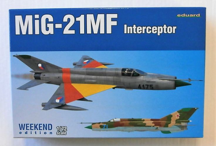 EDUARD 1/72 7453 MIG-21MF INTERCEPTOR WEEKEND EDITION
