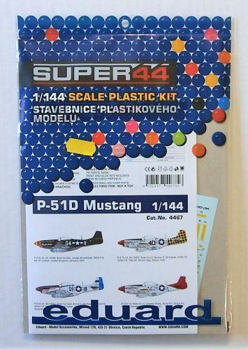 EDUARD 1/144 4467 P-51D MUSTANG
