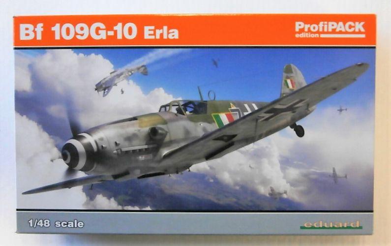EDUARD 1/48 82164 MESSERSCHMITT BF 109G-10 ERLA PROFIPACK
