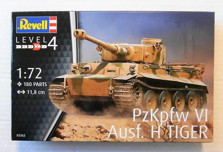 REVELL 1/72 03262 PzKpfw VI Ausf. H TIGER