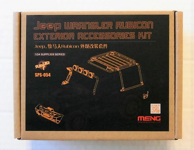 MENG 1/24 SPS-054 JEEP WRANGLER RUBICON EXTERIOR ACCESSORIES KIT