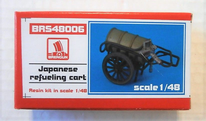 BRENGUN 1/48 48006 JAPANESE REFUELING CART