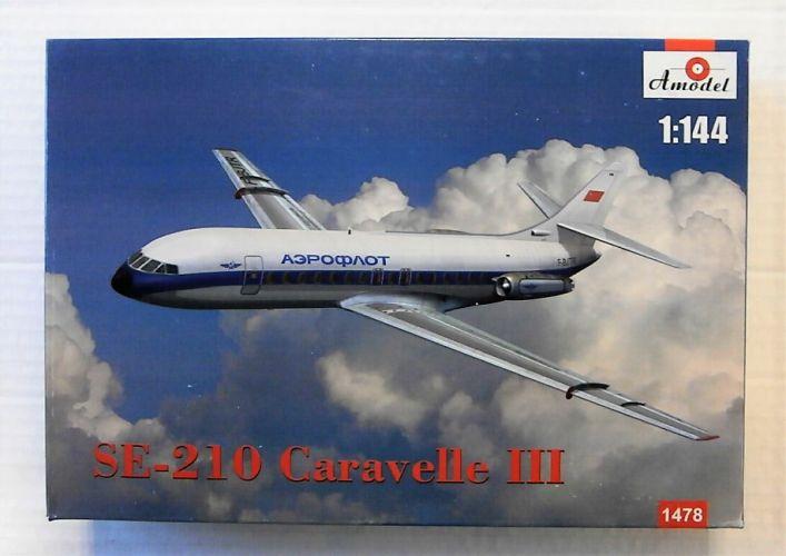 A MODEL 1/144 1478 SE-210 CARAVELLE III