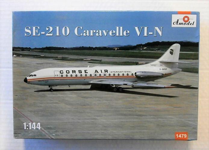 A MODEL 1/144 1479 SE-210 CARAVELLE VI-N