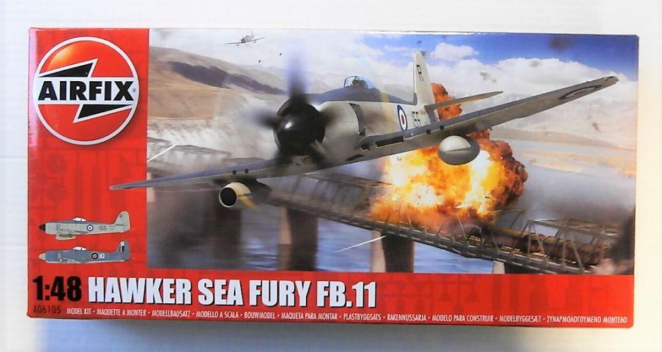 AIRFIX 1/48 06105 HAWKER SEA FURY FB.11