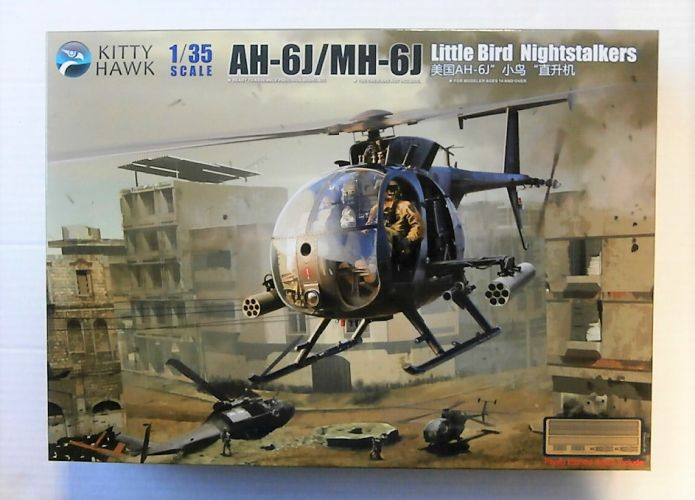 KITTYHAWK 1/35 50003 AH-6J/ MH-6J LITTLE BIRD NIGHTSTALKERS