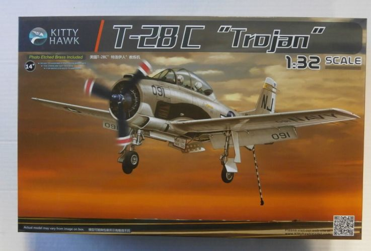 KITTYHAWK 1/32 32015 NORTH AMERICAN T-28C TROJAN
