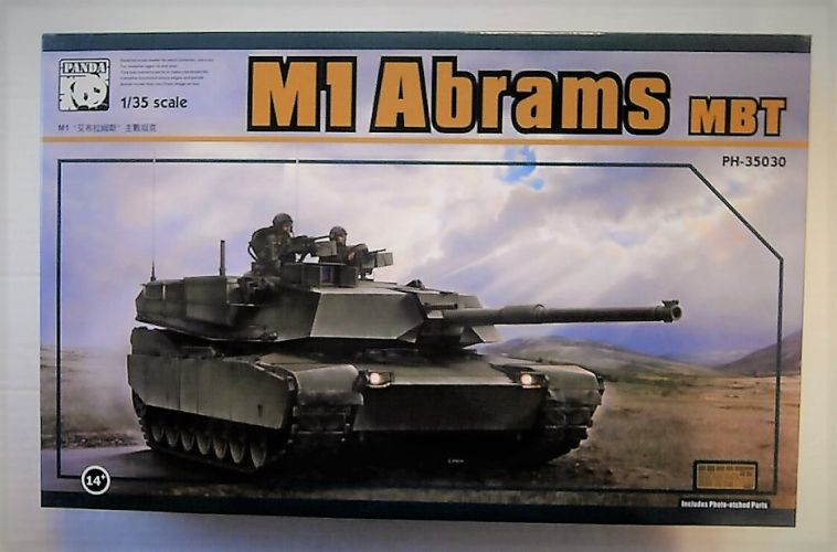 PANDA 1/35 35030 M1 ABRAMS MBT
