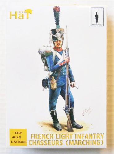 HAT INDUSTRIES 1/72 8219 FRENCH LIGHT INFANTRY CHASSEURS  MARCHING