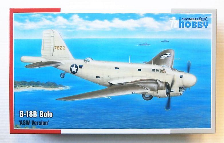 SPECIAL HOBBY 1/72 72230 DOUGLAS B-18B BOLO ASW VERSION