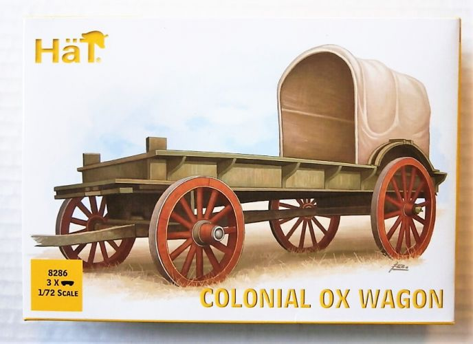 HAT INDUSTRIES 1/72 8286 COLONIAL OX WAGON