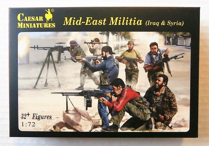 CAESAR MINATURES 1/72 H101 MID-EAST MILITIA  IRAQ   SYRIA