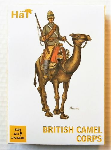 HAT INDUSTRIES 1/72 8194 BRITISH CAMEL CORPS