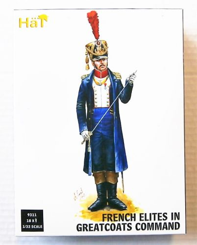HAT INDUSTRIES 1/32 9311 FRENCH ELITES IN GREATCOATES COMMAND