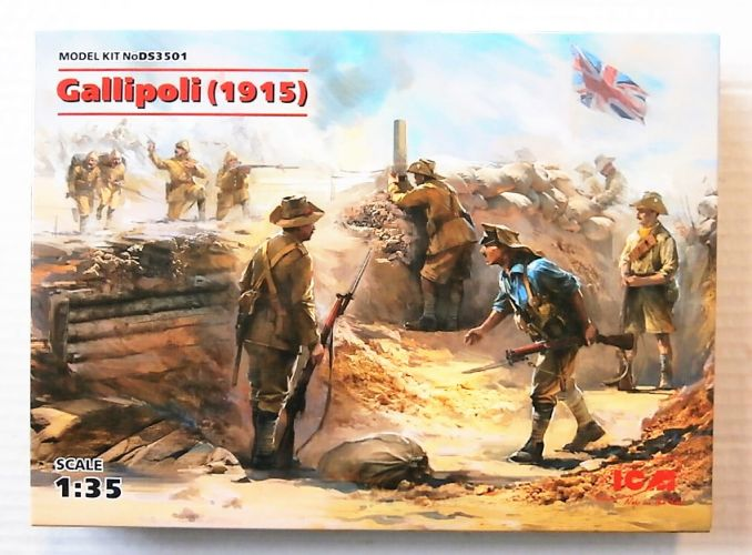 ICM 1/35 DS3501 GALLIPOLI  1915