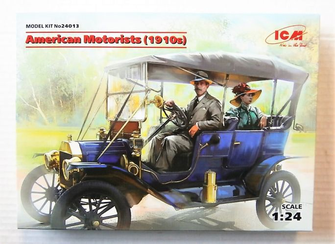 ICM 1/24 24013 AMERICAN MOTORISTS  1910S