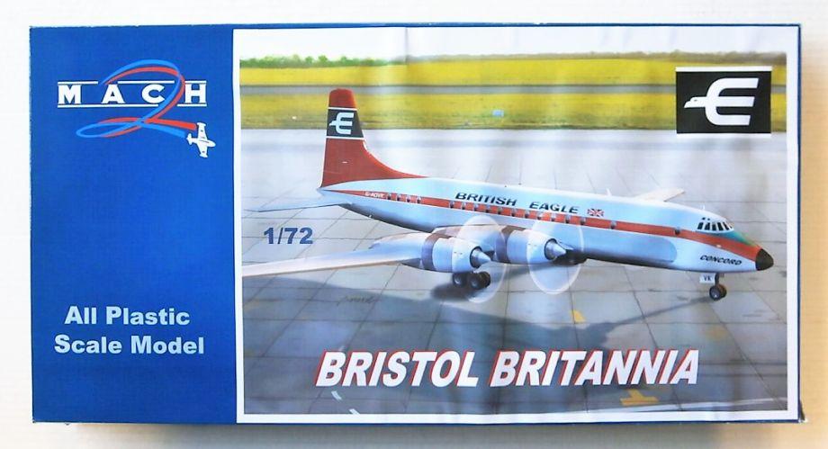 MACH 1/72 GP097 BRISTOL BRITANNIA BRITISH EAGLE