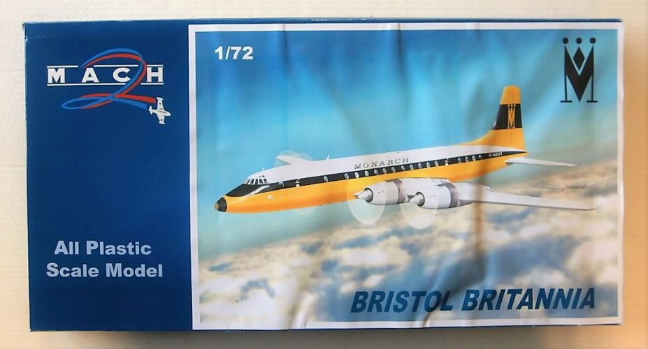 MACH 1/72 GP095 BRISTOL BRITANNIA  MONARCH