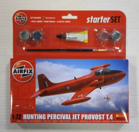 AIRFIX 1/72 A55116 HUNTING PERCIVAL JET PROVOST T.4