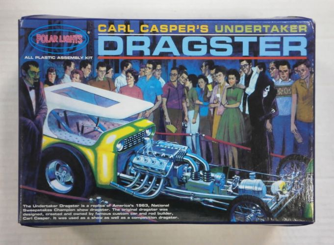 POLAR LIGHTS  5014 CARL CASPERS UNDERTAKER DRAGSTER