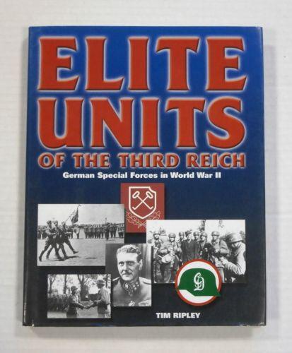 CHEAP BOOKS  ZB1390 ELITE UNITS OF THE THIRD REICH - TIM RIPLEY