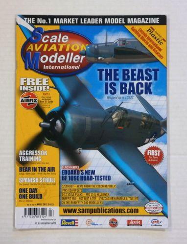 SCALE AVIATION MODELLER  SAMI VOLUME 18 ISSUE 04