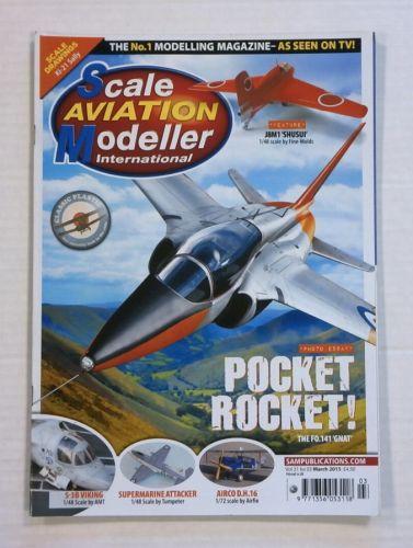 SCALE AVIATION MODELLER  SAMI VOLUME 21 ISSUE 03