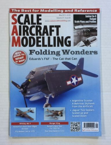 SCALE AIRCRAFT MODELLING  SAM VOLUME 37 ISSUE 03