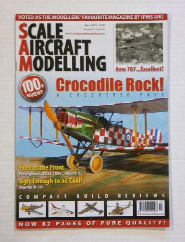 SCALE AIRCRAFT MODELLING  SAM VOLUME 33 ISSUE 01