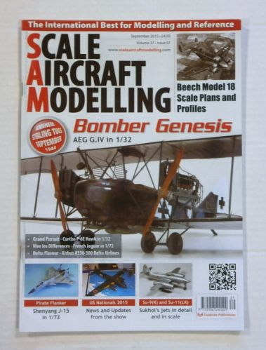 SCALE AIRCRAFT MODELLING  SAM VOLUME 37 ISSUE 07
