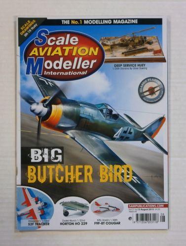 SCALE AVIATION MODELLER  SAMI VOLUME 21 ISSUE 08
