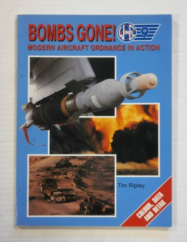 CHEAP BOOKS  ZB1383 WINGS 9 BOMBS GONE MODERN AIRCRAFT ORDNANCE IN ACTION - TIM RIPLEY