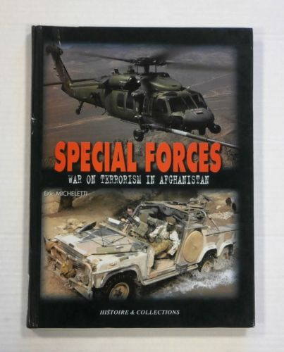 CHEAP BOOKS  ZB1360 SPECIAL FORCES WAR ON TERRORISM IN AFGHANISTAN - ERIC MICHELETTI