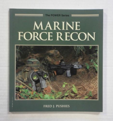 CHEAP BOOKS  ZB1356 MARINE FORCE RECON - FRED J. PUSHIES