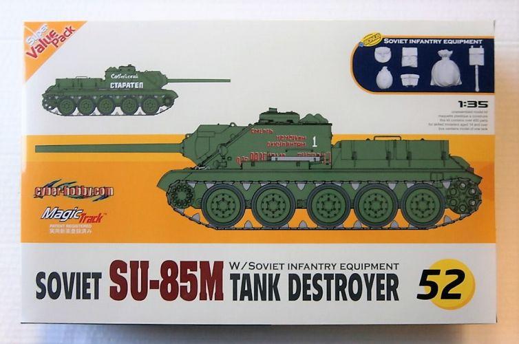 CYBER-HOBBYCOM 1/35 9152 SOVIET SU-85M TANK DESTROYER