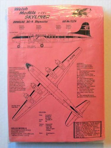 WELSH MODELS 1/144 SL7A DOUGLAS DC-4 SKYMASTER