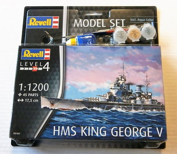 REVELL 1/1200 65161 HMS KING GEORGE V